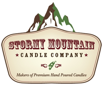 Stormy Mountain Candle Logo
