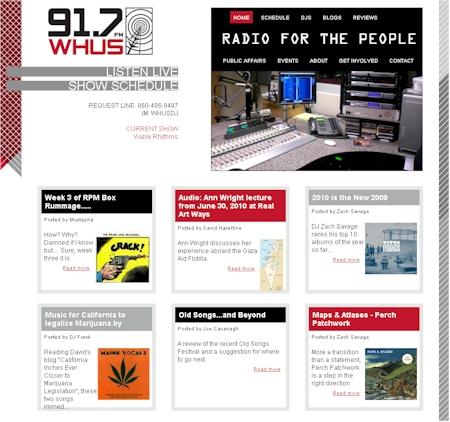 UConn WHUS Radio Station