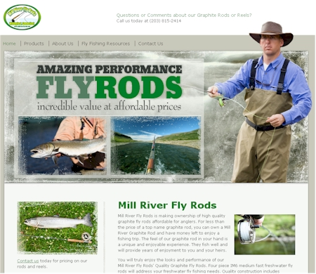 Mill River Fly Rods