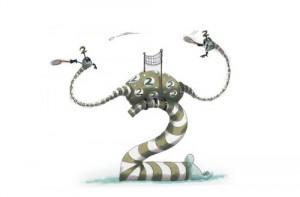An example of art from Tim Burton's Website