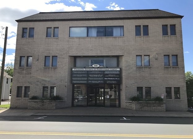 Our office is located at 55 Whiting Street, Suite 3B in Connecticut.